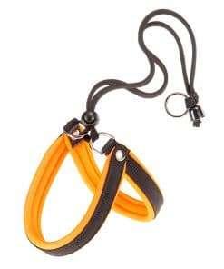 Нагръдник-за-куче-оранжев