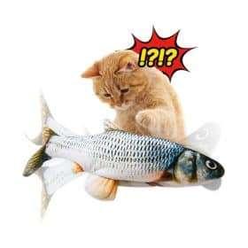 Мърдаща се рибка за котки